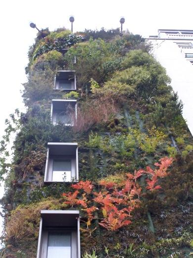 London green wall